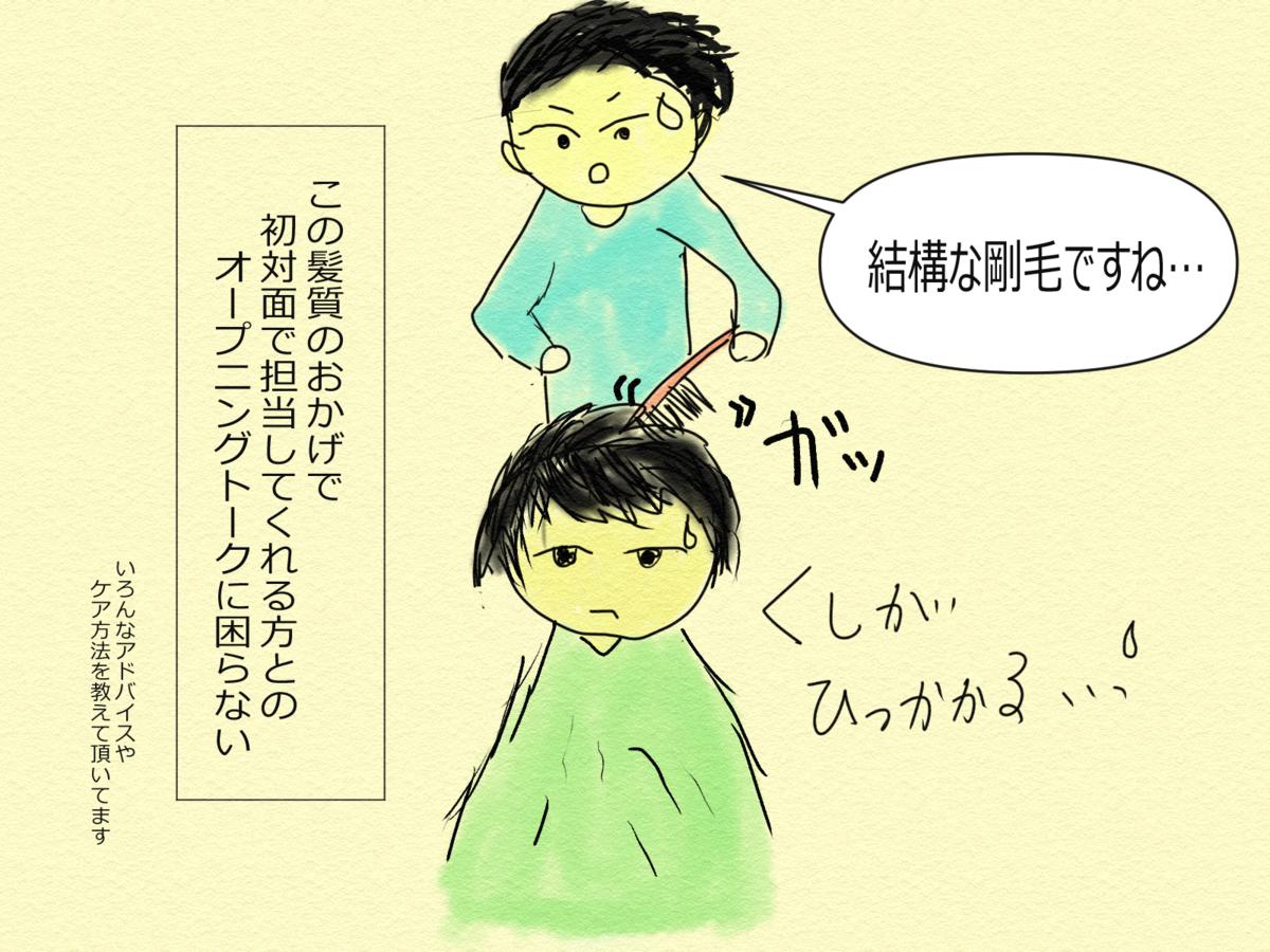 日常漫画 カメタ艇のヘアカット事情②