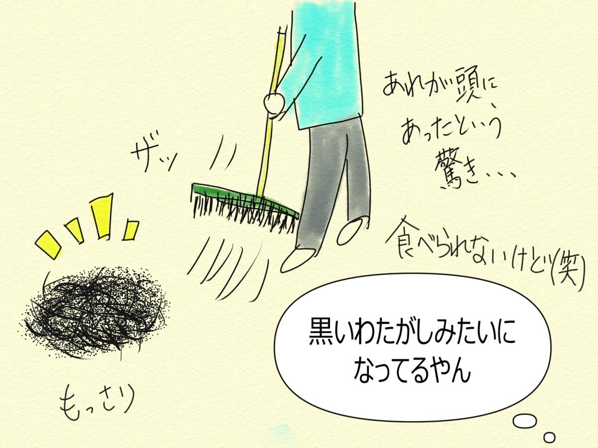 日常漫画 カメタ艇のヘアカット事情④