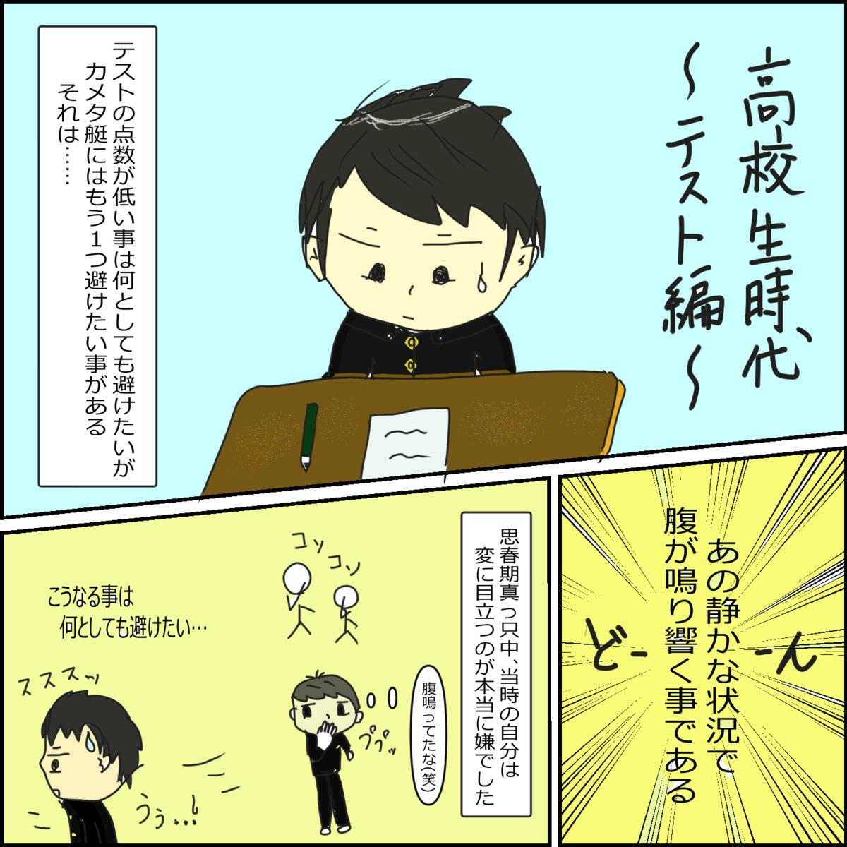 日常漫画 高校生時代~テスト編~①