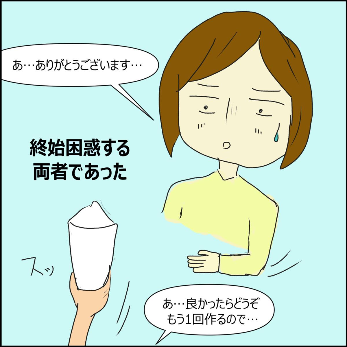 日常漫画 大学生時代~食事編~⑤