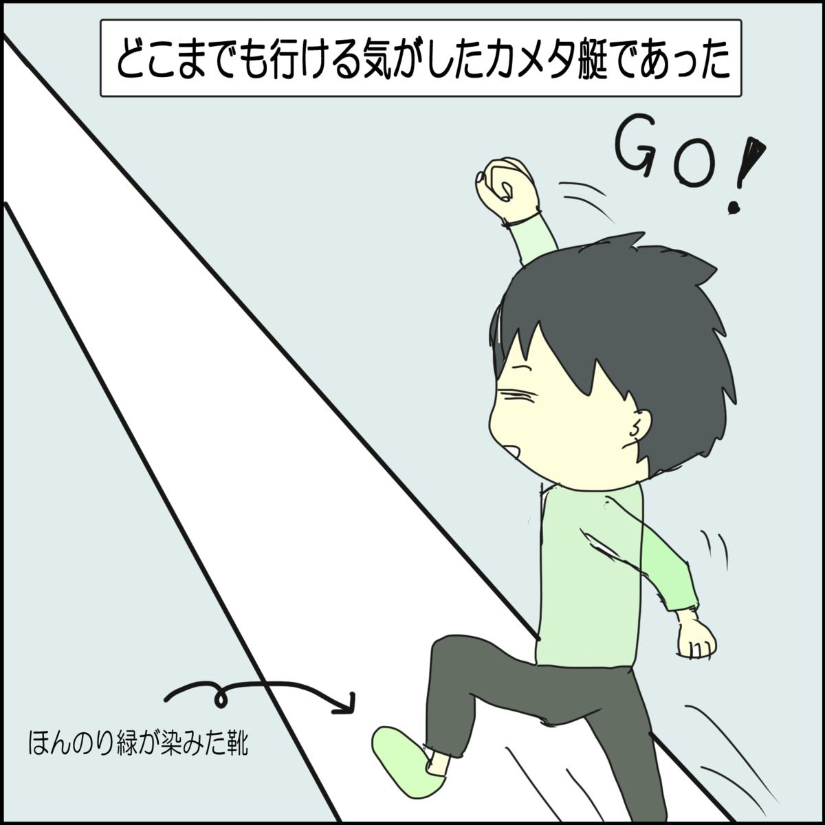 日常漫画 高校生時代~不幸中の幸い~⑧