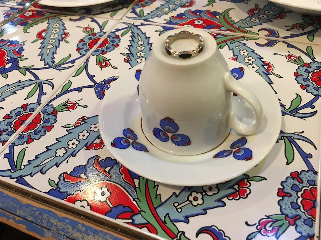 トルコのコーヒー占い