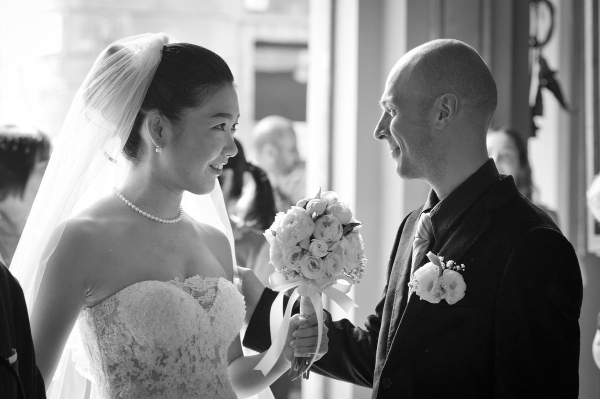 イタリアの結婚式写真