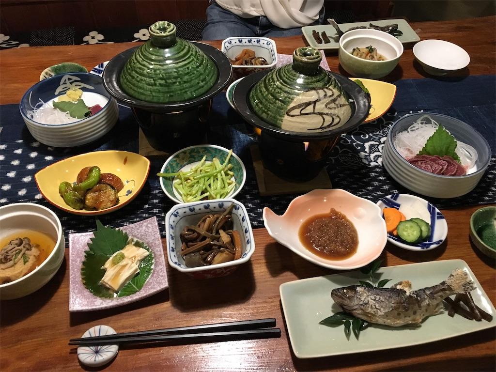 一富士の夕飯