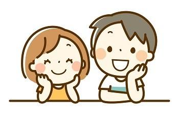 兄と妹の画像
