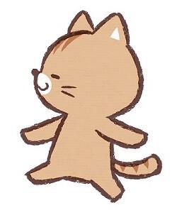 マイペースなネコ