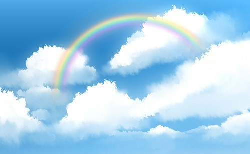 虹の架け橋の画像