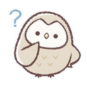 疑問のフクロウ