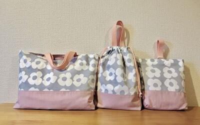 幼稚園・保育園用の布カバン