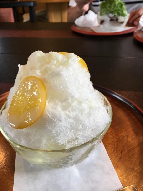 桃林堂のレモンミルク