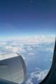 機上の上空