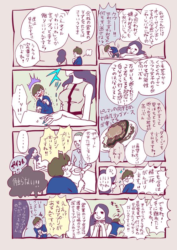 峰なゆかの「女くどき飯」第2回:プログラマーのヒカル君(26)と大久保「ピリカラソース」で4