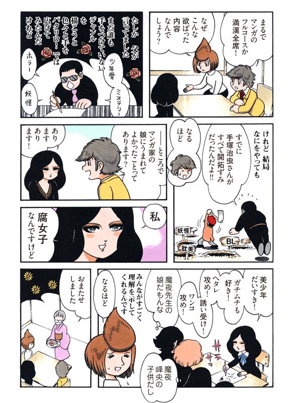 田中圭一のペンと箸-漫画家の好...