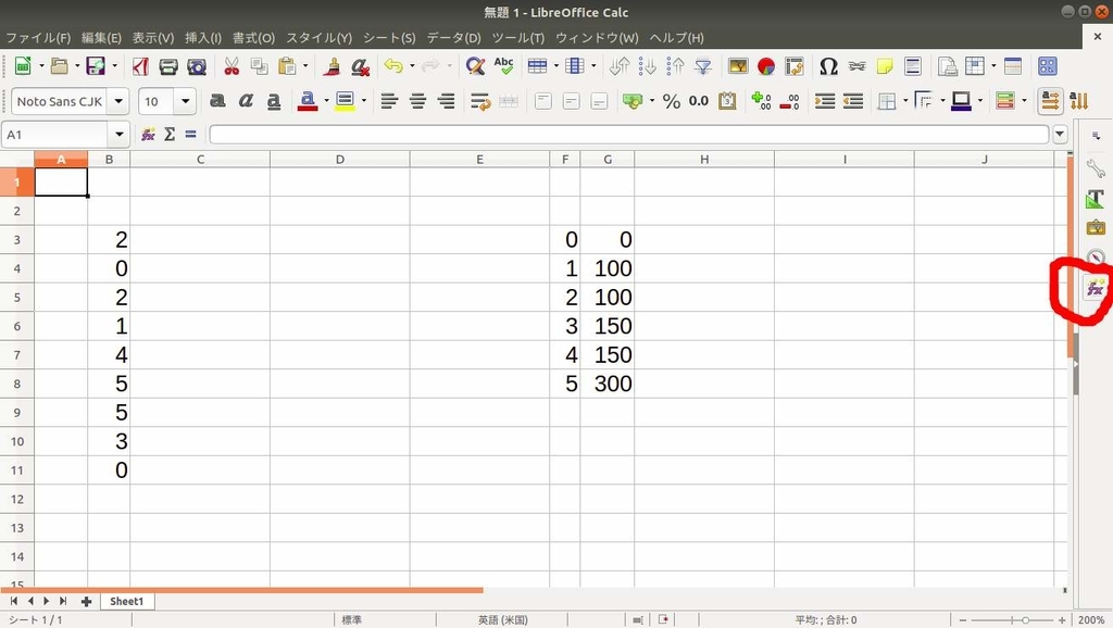 LibreOffice Calc VLOOKUP example1