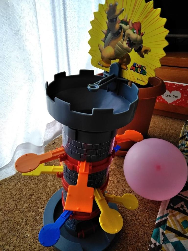 スーパーマリオ ぶっ飛び! タワーゲーム