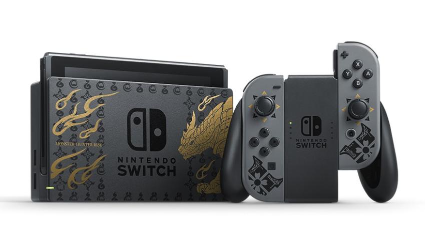 モンスターハンターライズ仕様Nintendo Switch本体