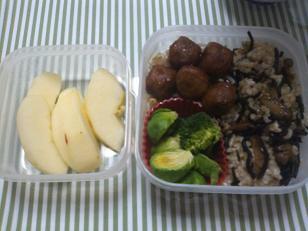 私のお弁当(2/1、2)の画像