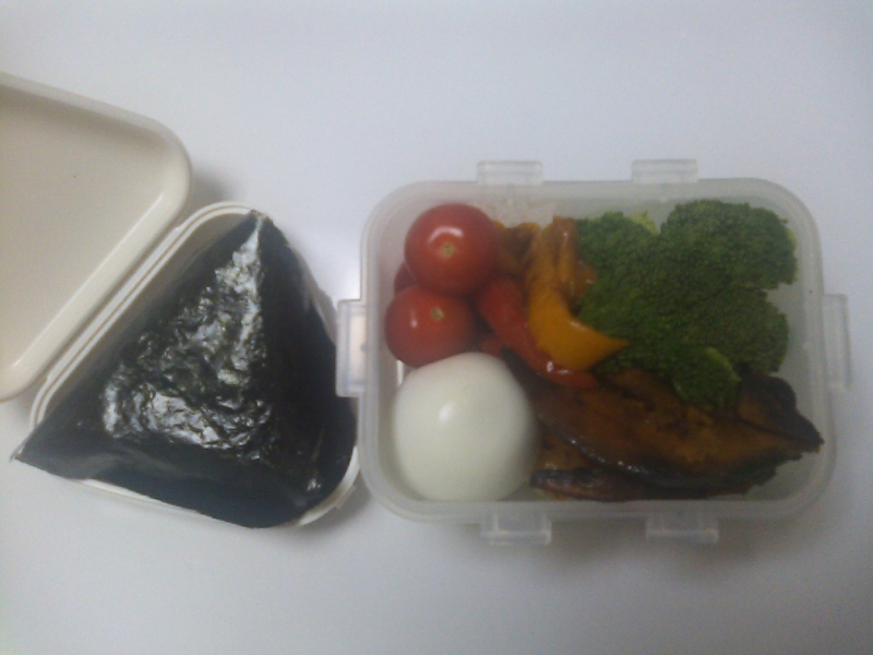 今日のお弁当の画像