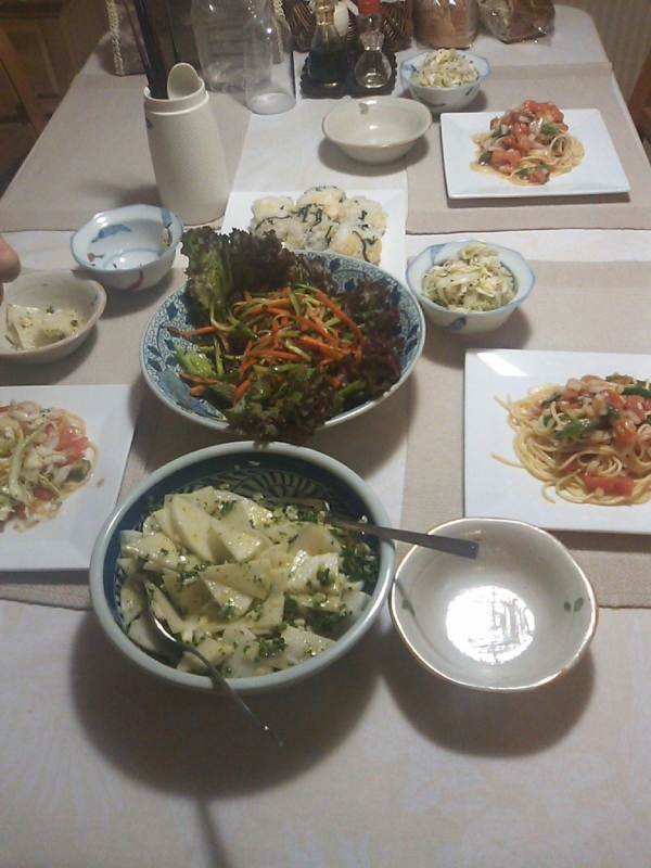 実家ご飯の画像