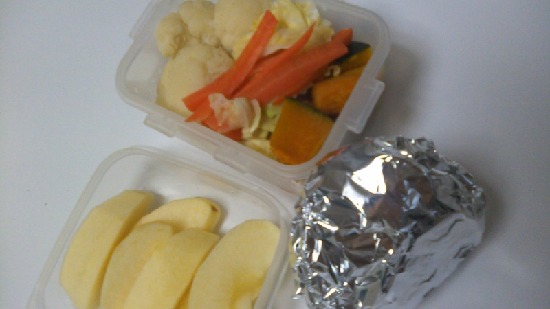 私のお弁当の画像