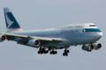 [Aircraft]Cathay Pacific Airways B747-467/B-HUE