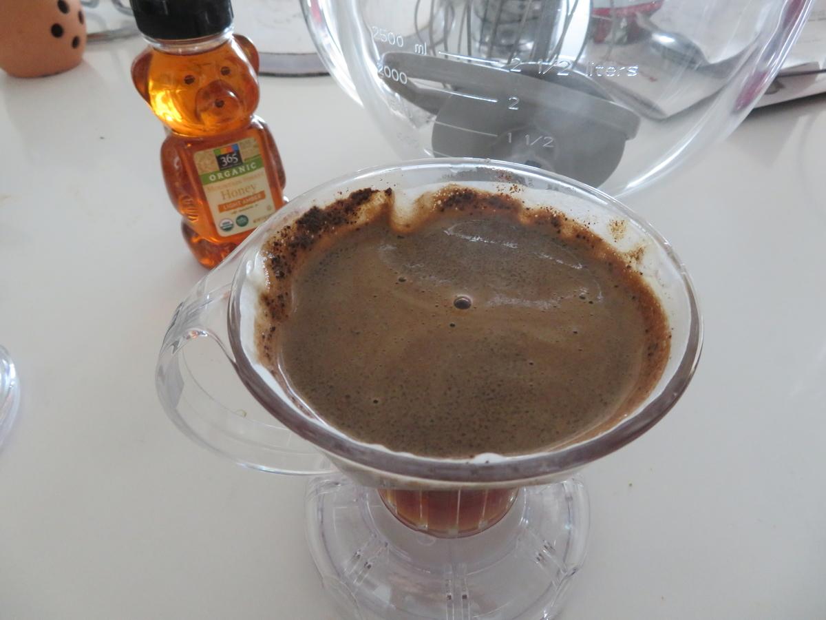 モーニンググラスコーヒーで使ってるクレバードリッパー