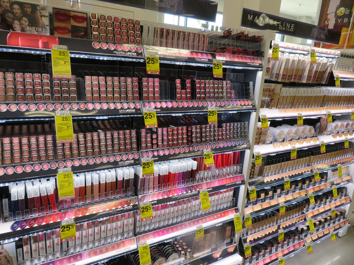 25% off Maybelline at Longs