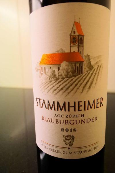 スイスワインBlauburgunder