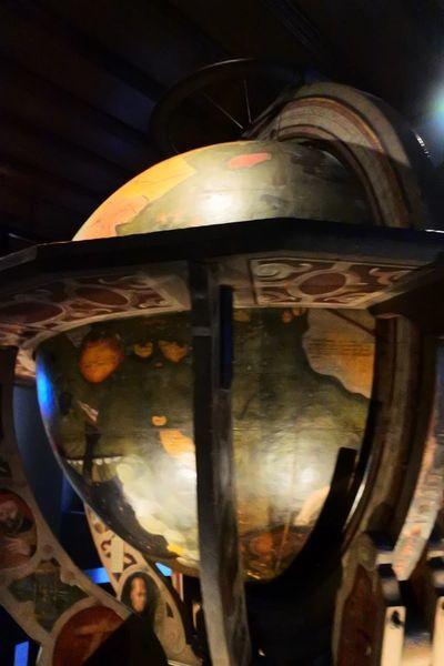 16世紀につくられた巨大地球儀