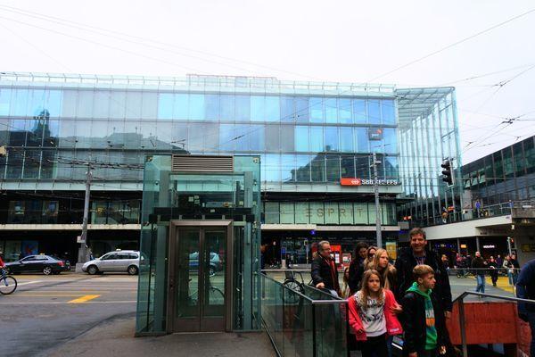 ベルン中央駅