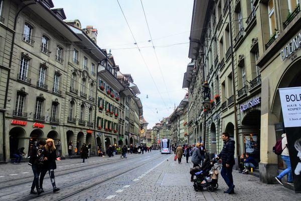 ベルン旧市街地