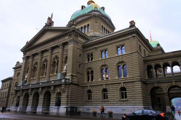 ベルンの連邦議事堂