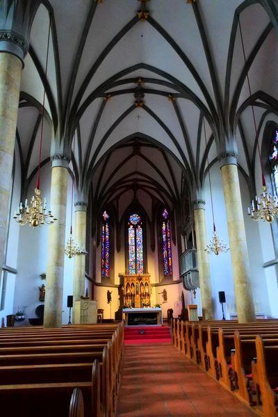 聖フロリン大聖堂の内観