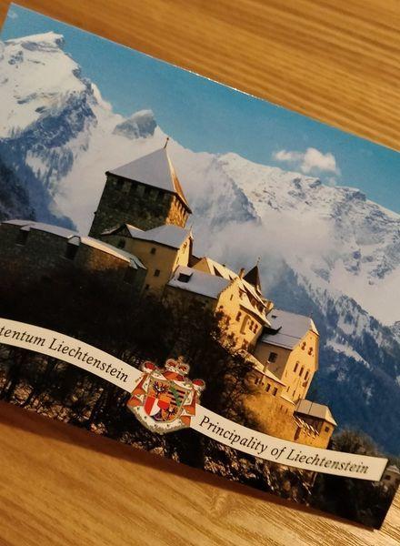 リヒテンシュタインのポストカード