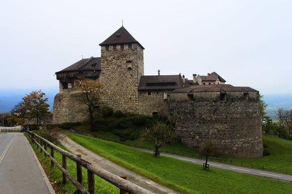 リヒテンシュタインのファドゥーツ城