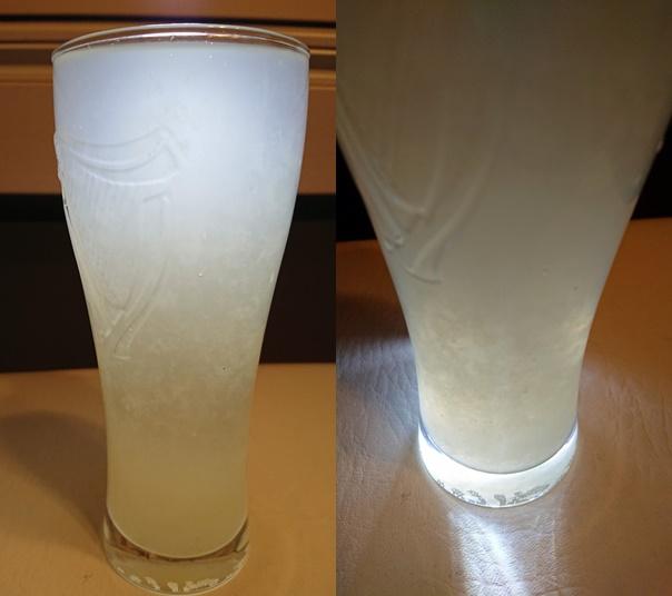 宝酒造飲むうちに味が変化変わるレモンサワー上下の違い
