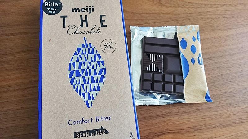 カカオ70%チョコレート比較明治THECHOCOLATE
