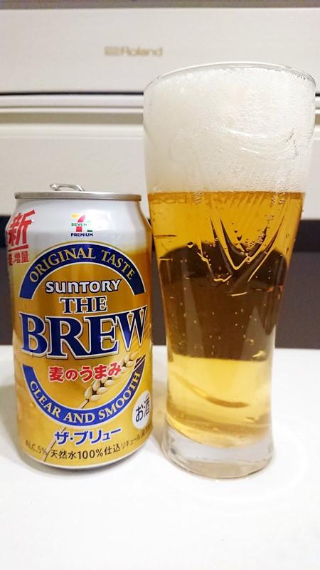 コンビニのPB第3のビール比較70%オフもSuntory THE BREW比較