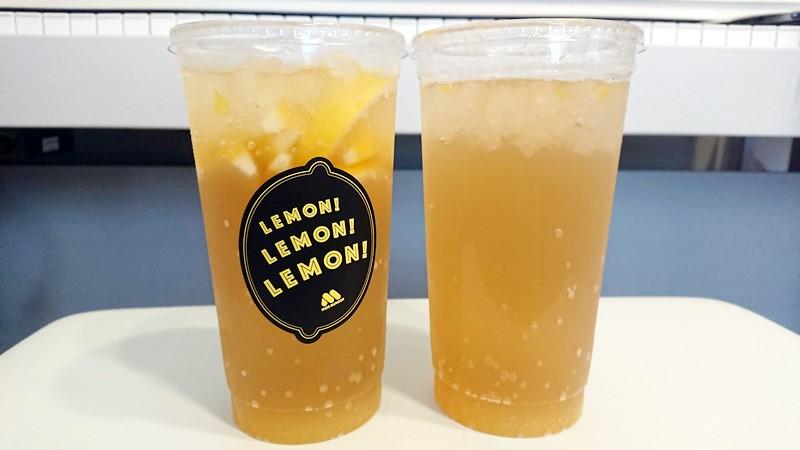 【レビュー】期間限定モスバーガー新商品まるごと!レモンのジンジャーエールと瀬戸内産はっさくレモンの感想