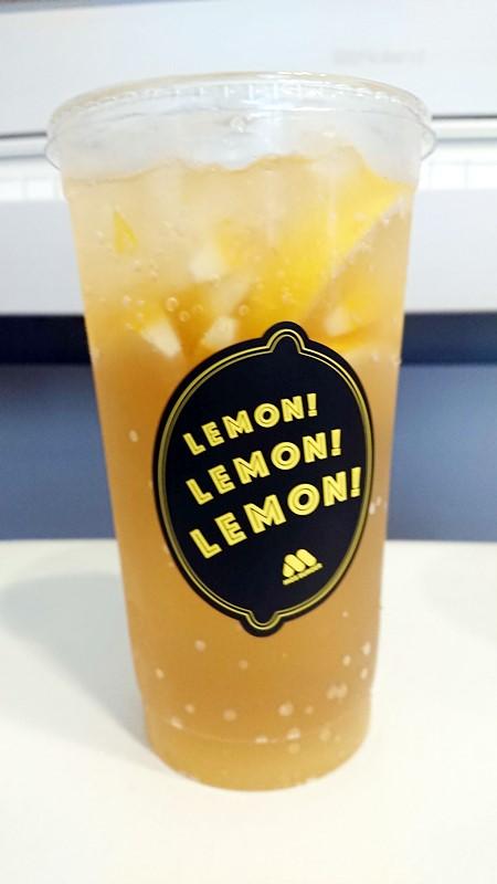 【レビュー】期間限定モスバーガー新商品まるごと!レモンのジンジャーエール