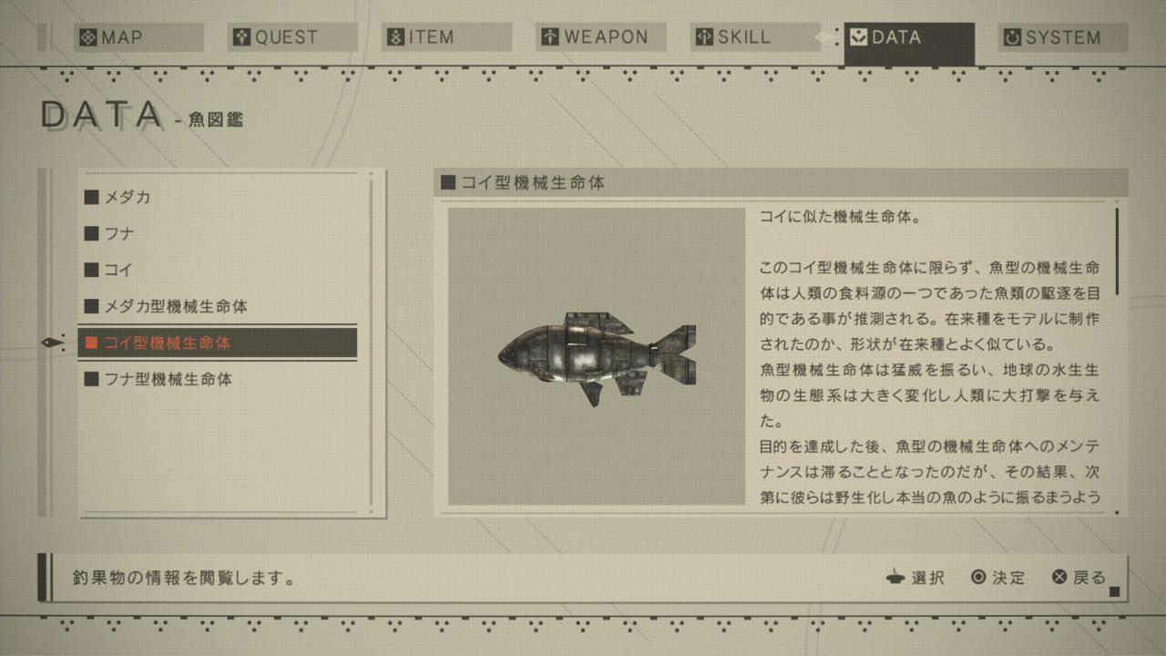 コイ型魚図鑑