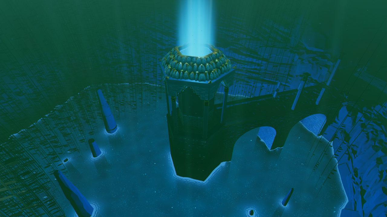 海底から水が
