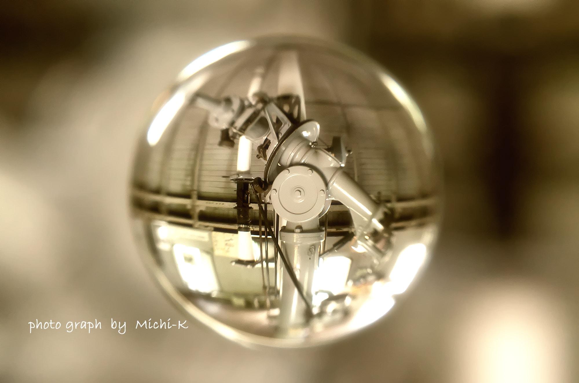 国立天文台・第一赤道儀室にある屈折望遠鏡-宙玉