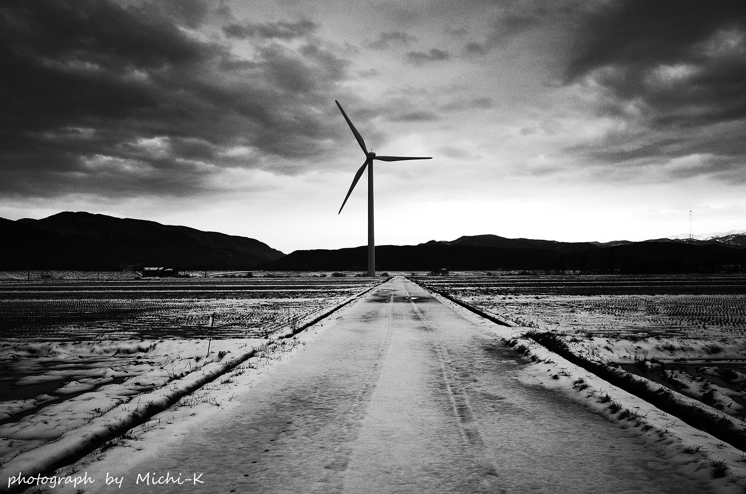 山形県庄内町-風車