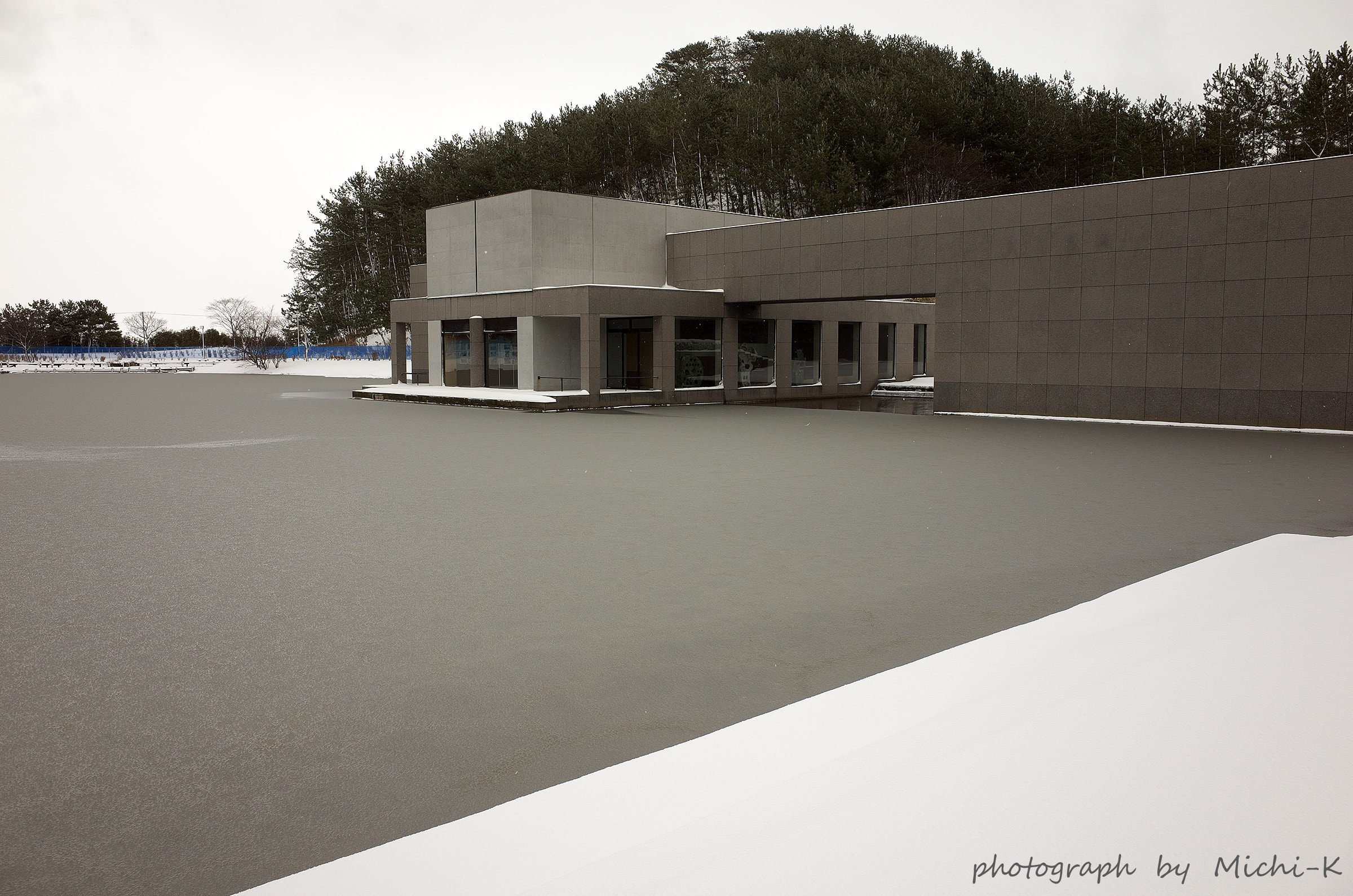 酒田市飯森山公園・土門拳記念館の周辺-1