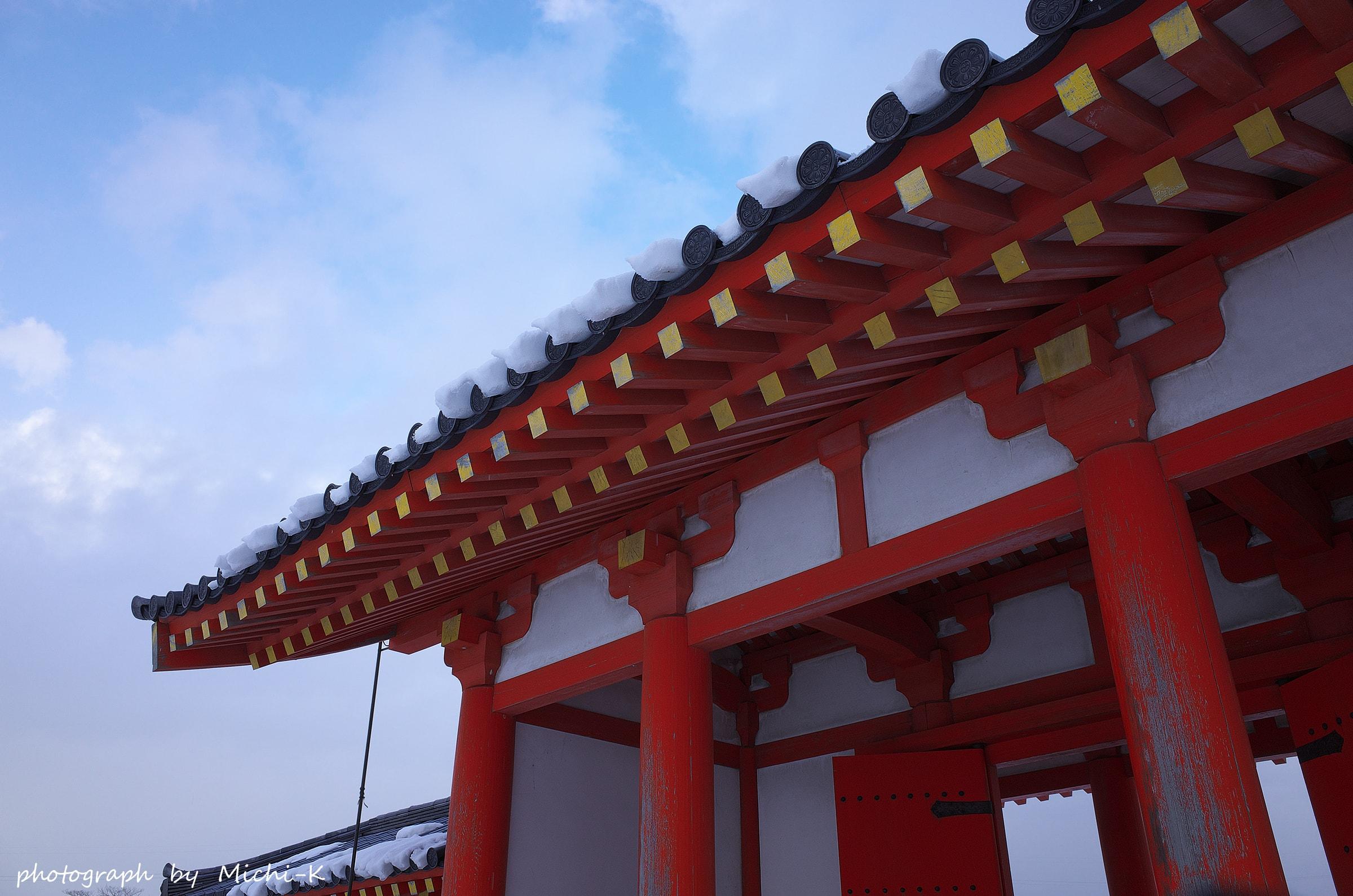 酒田市・城輪の柵跡2