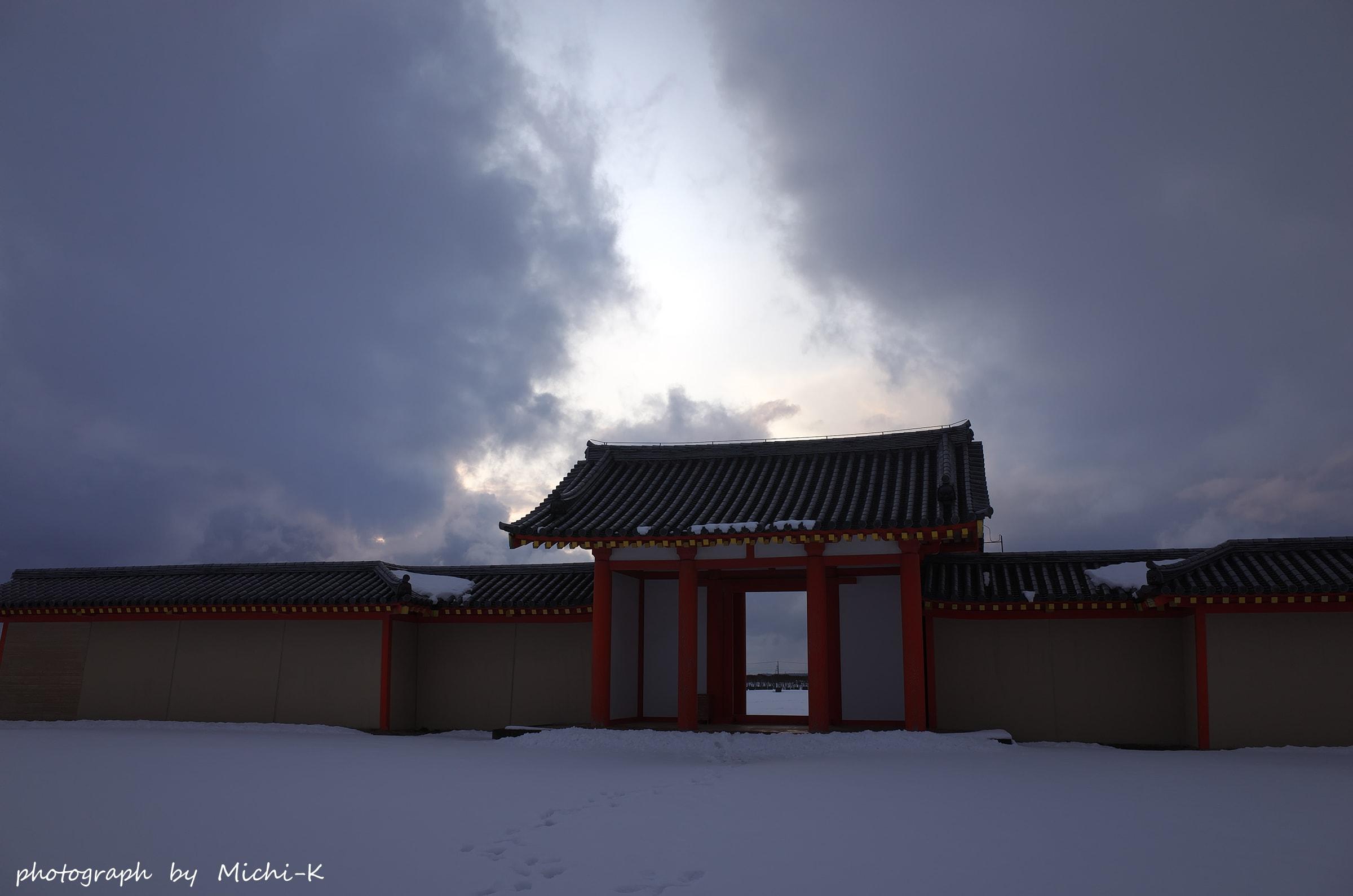 酒田市・城輪の柵跡7