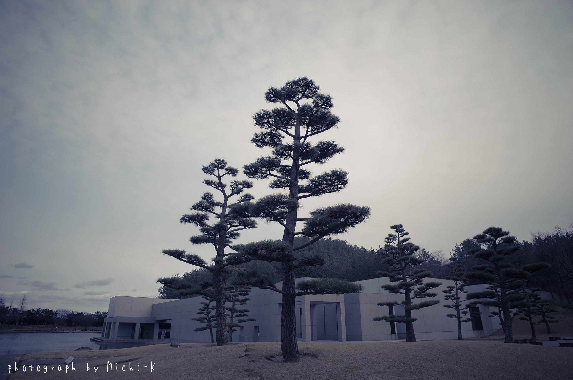 酒田市飯盛山・土門拳記念館1