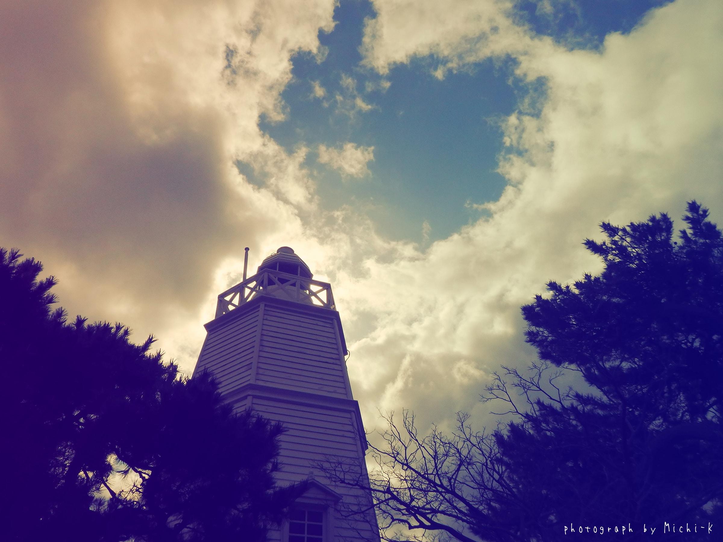 山形県酒田市・日和山木造六角灯台No.2
