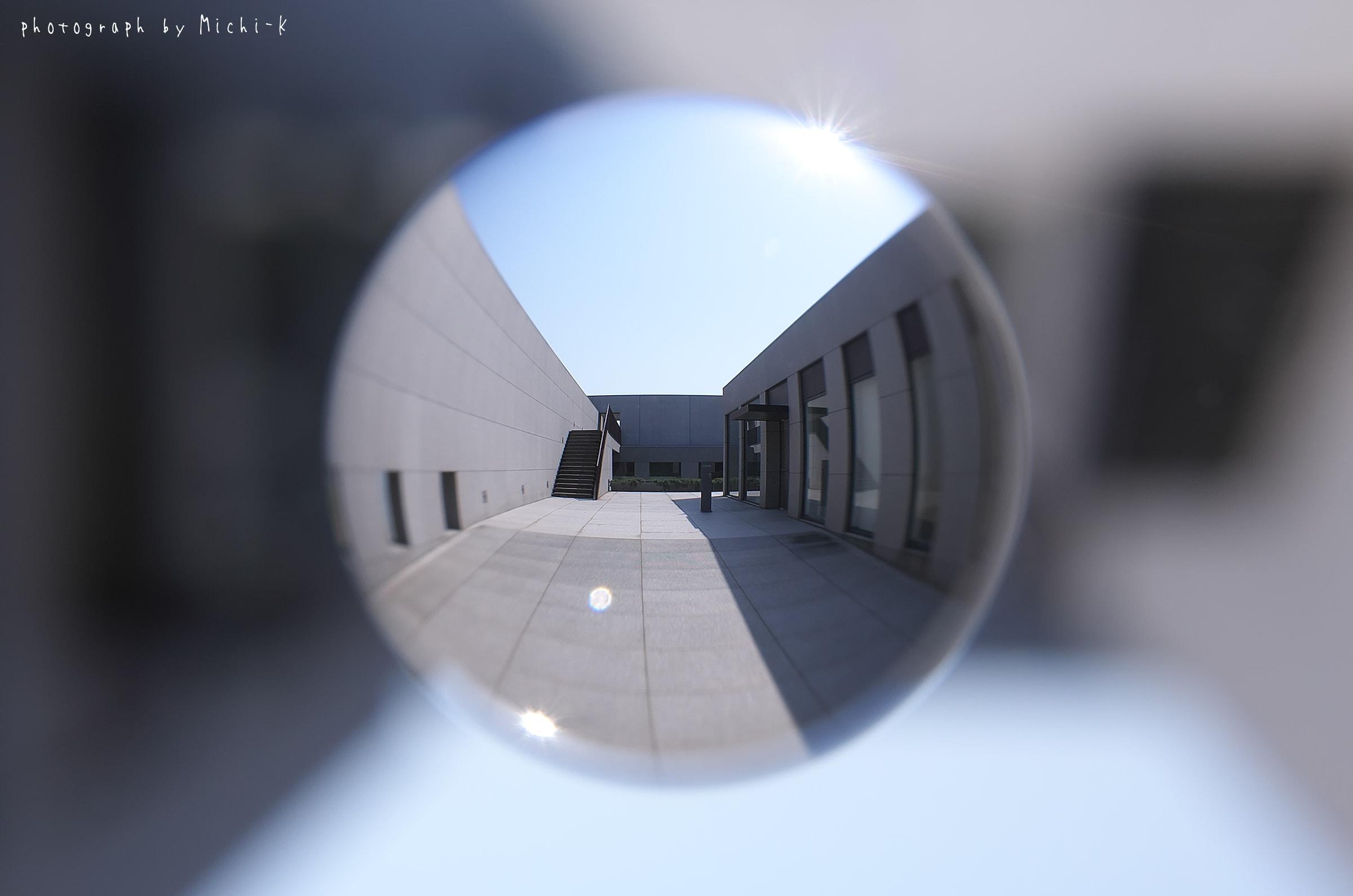 酒田市・土門拳記念館-宙玉(そらたま)NO.1